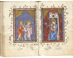 12. the breviary of marie, franciscan use, in latin with a few rubrics in french [france (paris), c.1360]