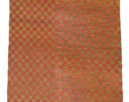 10. tibet, early 20th century | 'checkerboard' khaden rug