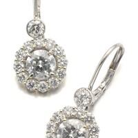 12. pair of diamond earrings