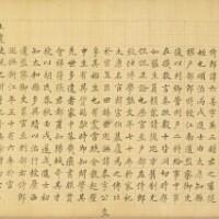 21. wang shu(1668-1743) essaide style régulier intitulé yangcheng san xiang xian chongsi ji juan |