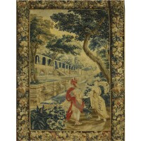 207. a flemish mytholgical tapestry, probably brussels or oudenaarde circa 1700