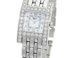 10. lady's diamond wristwatch, chopard