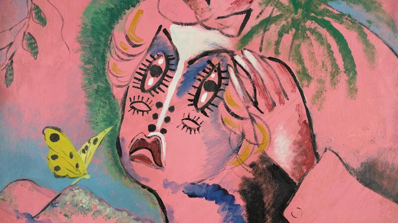 The Subversive Romance of Picabia's Pink 'Monster'