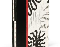 4. de chirico-apollinaire. calligrammes. 1930. ex. hc sur chine, xi/xxxi signé. en feuilles, sous cartonnage ill.