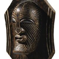 135. fragment de bouclier, songye, république démocratique du congo |