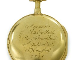 4008. a louis xvi gold openface verge watch, gregson, watchmaker to the king, paris, circa 1782