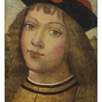 104. manner of bernardino di betto di biago, called il pinturicchio | portrait of a young boy