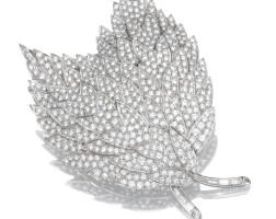 32. diamond brooch