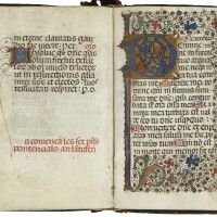 37. book of hours, use of rome, in latin and catalan [northern spain, c.1450]
