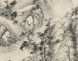 585. 顧澐 1835-1896   夏山清遠
