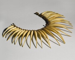 1. viti necklace, fiji islands