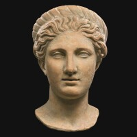 9. a terracotta head of a woman, after the antique, early 20th century | a terracotta head of a woman, after the antique