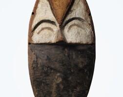 56. masque, mbole, république démocratique du congo |