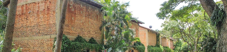 Exterior view of Hacienda La Trinidad Cultural Park.