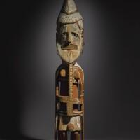 111. ancestor figure, new ireland