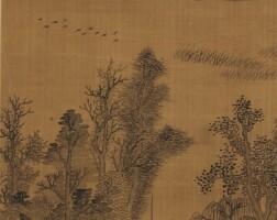 1010. 潘恭壽 1741-1794 | 仿王翬山水
