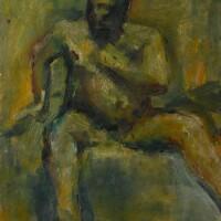 124. Frank Auerbach