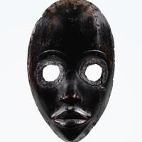 63. masque, dan, côte d'ivoire |