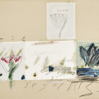 109. Cy Twombly