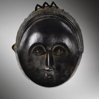 23. masque, baulé, côte d'ivoire |