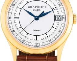 130. patek philippe | reference 5296 a pink gold wristwatch with date, retailed by tiffany & co., circa 2015