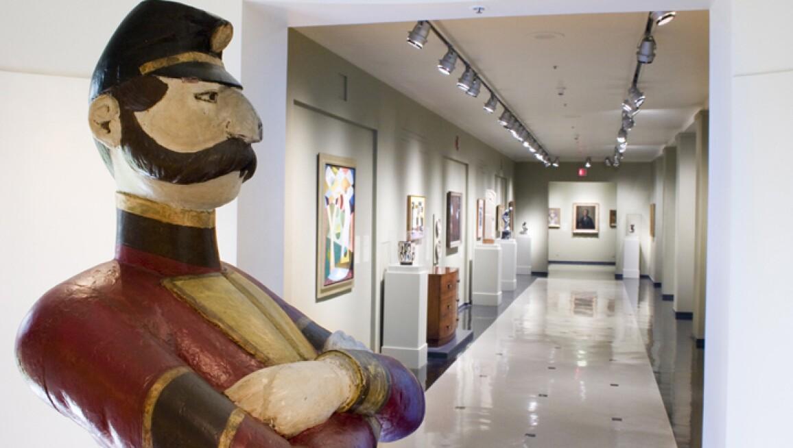 Interior View, Newark Museum