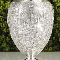 511. a chinese export silver vase, possibly wang hing, circa 1890 |
