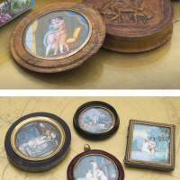 31. various origins, 18th/19th century, five erotic miniatures