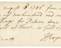 306. Sir Joshua Reynolds, P.R.A. and Studio