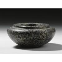 3. a porphyritic stone jar, 1st/3rd dynasty, 2965-2640 b.c.