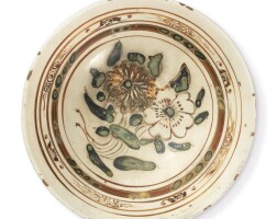 1769. a painted 'cizhou' type bowl song / jin dynasty  