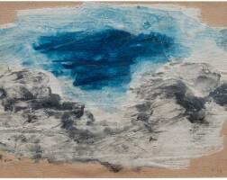 152. jean fautrier | étude de paysage (landscape study)