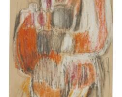 9. hannah wilke (1940 - 1993) | untitled, 'circa' 1965