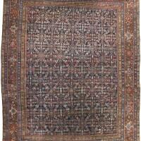 36. a faraghan carpet, northwest persia  