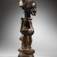 37. statue, songye,république démocratique du congo |