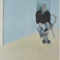 514. francis bacon | study for self-portrait (sabatier 35)