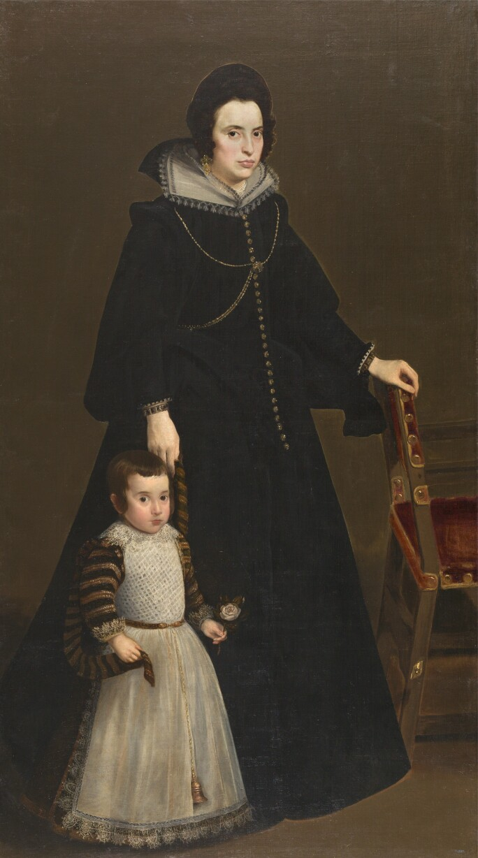 Diego Velázquez, Doña Antonia de Ipeñarrieta