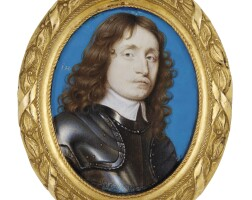 11. john hoskins | portrait of a gentleman wearing armour, circa 1650