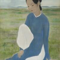1044. 武高談   女子坐像