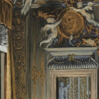 25. victor edelsteinborn in 1946 | view of the living room, palazzo albrizzi, venice