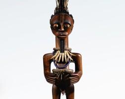 59. statue, songye ntambwe, république démocratique du congo |