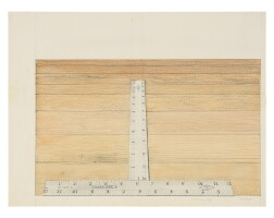 3. sylvia plimack mangold (b. 1938) | untitled, 1974