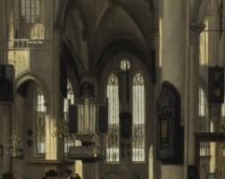 35. 埃馬努埃爾·德·維特 | 《哥德式新教教堂內部》