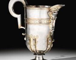 4. a spanish parcel-gilt silver ewer, circa 1600 | a spanish parcel-gilt silver ewer, circa 1600