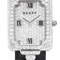 11. graff | gvxa white gold and diamond-set wristwatch, circa 2000