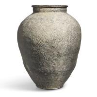 3006. a japanese suzu pottery jar heian period, 12th century |