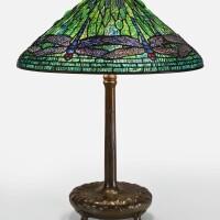 "341. tiffany studios | ""dragonfly"" table lamp"