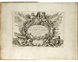 40. sandford, the order and ceremonies used for, and at the solemn interment of ... prince george duke of albemarle, [1670]