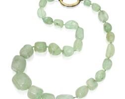 278. 綠柱石珠項鏈