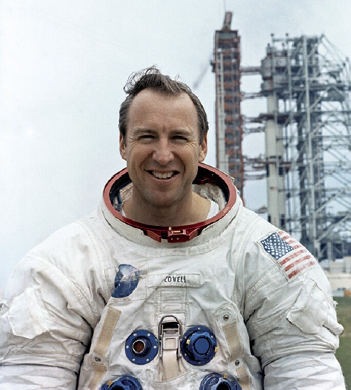 Portrait - Astronaut James A. Lovell Jr.